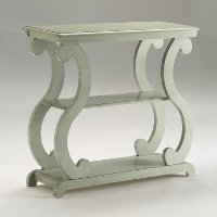 Modern Contemporary Sage End Table - Lucy