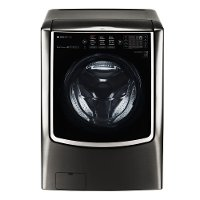 WM9500HKA LG  Signature 5.8 Cu. Ft. Front Load Washer - Black Stainless Steel
