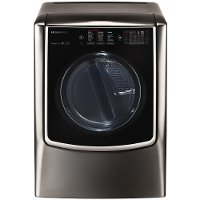 DLGX9501K LG 9.0 cu. ft. Gas Front Load Dryer - Black Stainless Steel