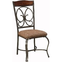 Set of 4 Traditional Dining Chairs - Glambrey