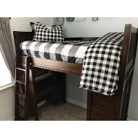 Beddy's Twin Black and White Checked Out Bedding Collection