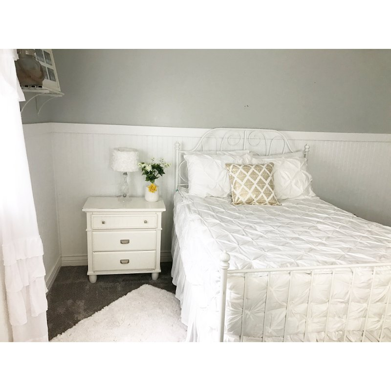 Beddy's Full Simply White Bedding Collection