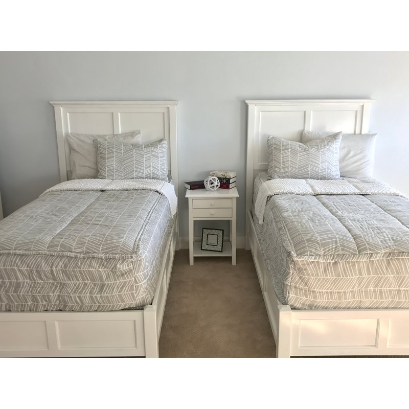 Beddy's Twin Sketched Bedding Collection