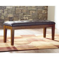 D594-00 Large Upholstered Dining Bench