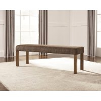 D714-00 Casual Upholstered Dining Bench - Tamilo