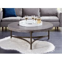 Contemporary Concrete Coffee Table - Magnum