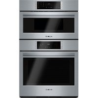 HBL87M52UC Bosch 30  Combination Wall Oven with Microwave - Stainless Steel