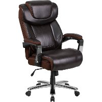 Big and Tall Brown Executive Office Chair