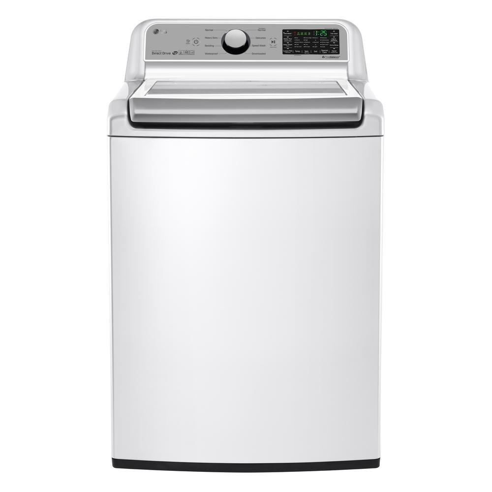 Lg Top Load Washer And Electric Dryer Pair White Rc