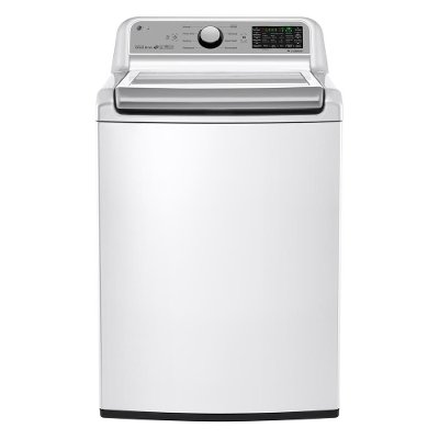 WT7200CW LG Mega Capacity Top Load Washer - 5.0 cu. ft. White