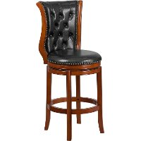 Transitional Swivel BarStool