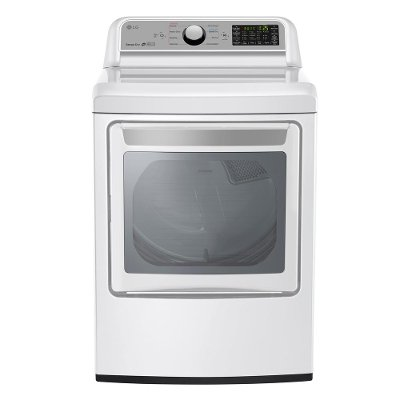DLG7201WE LG Gas Dryer with Sensor Dry - 7.3 cu. ft. White