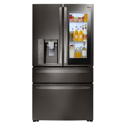 LMXC23796D LG Counter Depth French Door-in-Door Refrigerator - 22.5 cu. ft., 36 Inch Black Stainless Steel