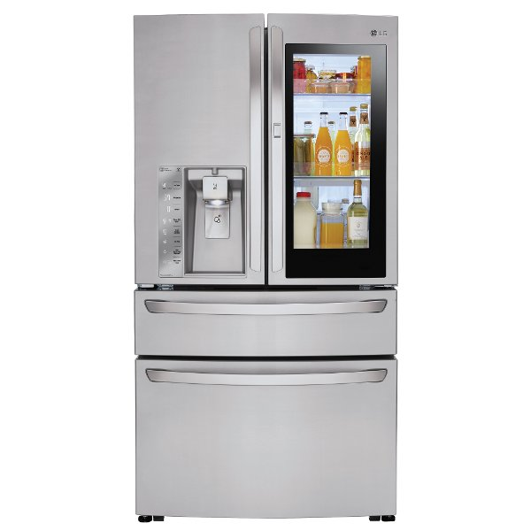 ... LMXC23796S LG 4 Door French Door Refrigerator   36 Inch With InstaView  Door In