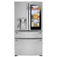 LMXC23796S LG Counter Depth French Door-in-Door Refrigerator - 22.5 cu. ft., 36 Inch Stainless Steel