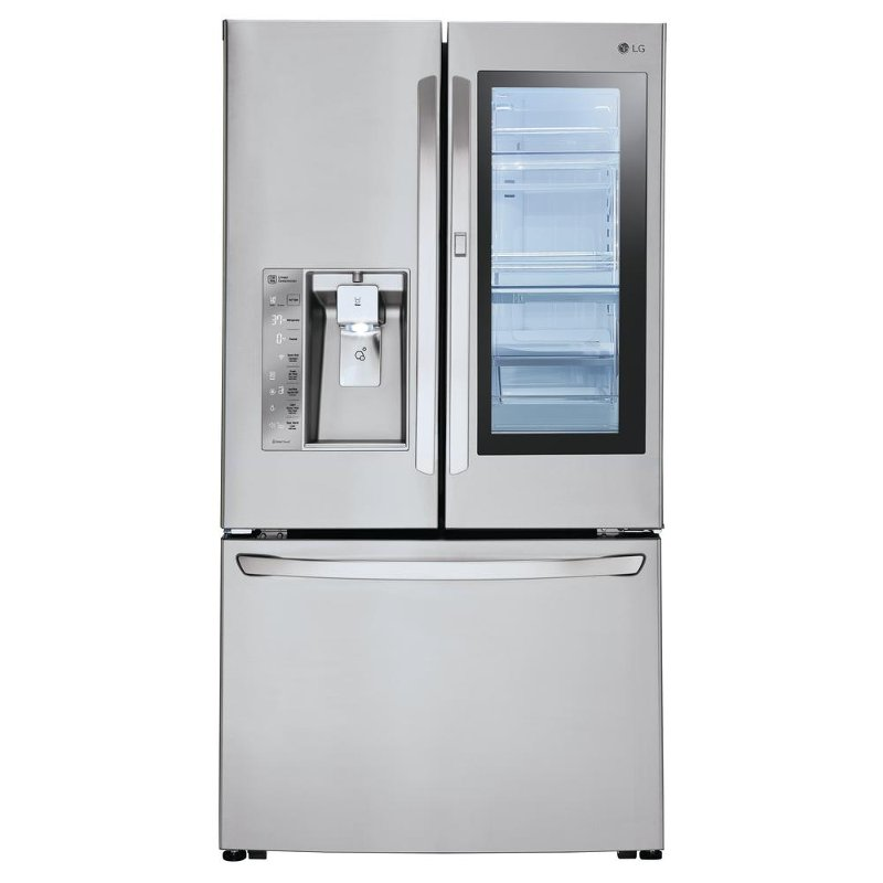 Charmant LFXC24796S LG French Door Refrigerator   36 Inch Stainless Steel Counter  Depth