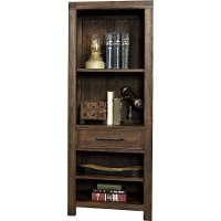 101917-105031 Burnished Walnut Brown Bookcase - St. Croix