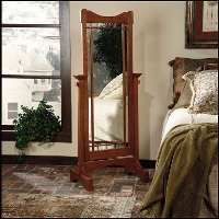 Mission Oak Mirror - Cheval
