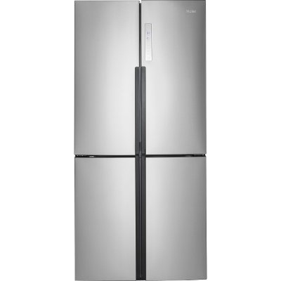 Superb HRQ16N3BGS Haier 33 Inch 4 Door French Door Refrigerator   Stainless Steel