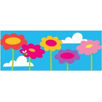 1180281 PBS Kids Giant Flowers