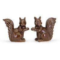 Assorted Brown Ceramic Squirrel