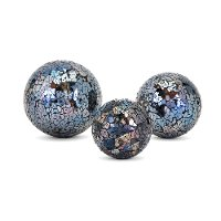 3 Inch Mirrored Glass Mosaic Deco Sphere