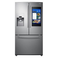 RF265BEAESR Samsung French Door Refrigerator with WiFi Enabled Family Hub Touchscreen - 36 Inch Stainless Steel
