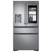RF23M8590SR Samsung Counter Depth French Door Smart Refrigerator with Family Hub - 22.2 cu. ft., 36 Inch Stainless Steel