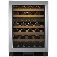UW-24A/S/TH-LH Sub-Zero Under Counter Wine Cooler - Stainless Steel