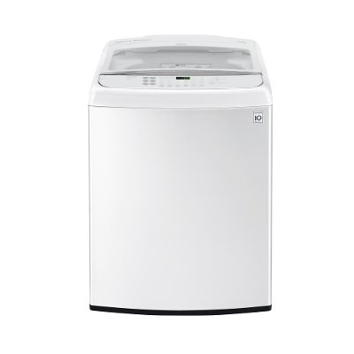 WT1901CW LG Front Control Top Load Washer - 5.0 cu. ft.  White