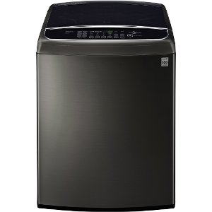 frontload wt1901ck lg black stainless steel 50 cu ft ultra large capacity front control top