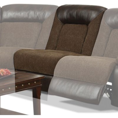 Brown Armless Recliner - Helen