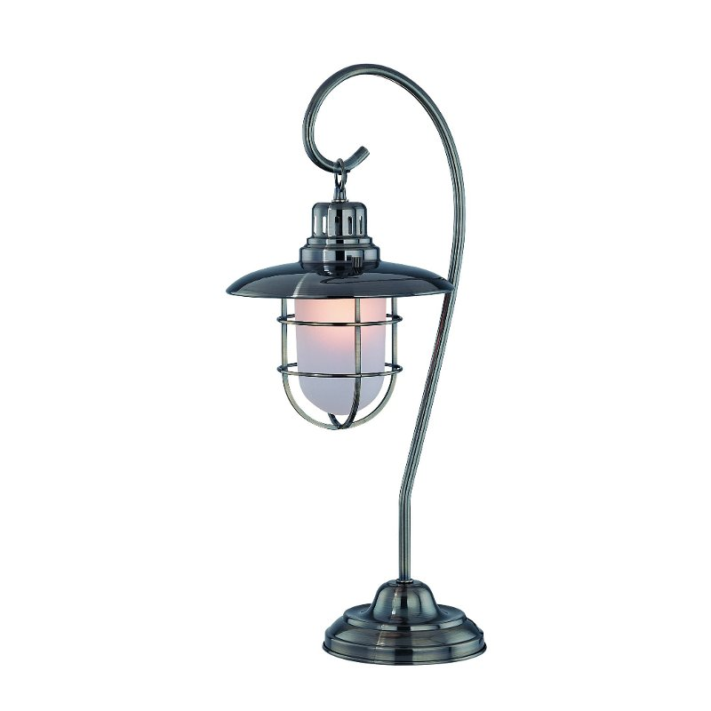 Table Lamp with Glass Shade - Lanterna