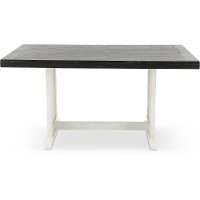 Two-Tone French County Trestle Dining Table - Bourbon County
