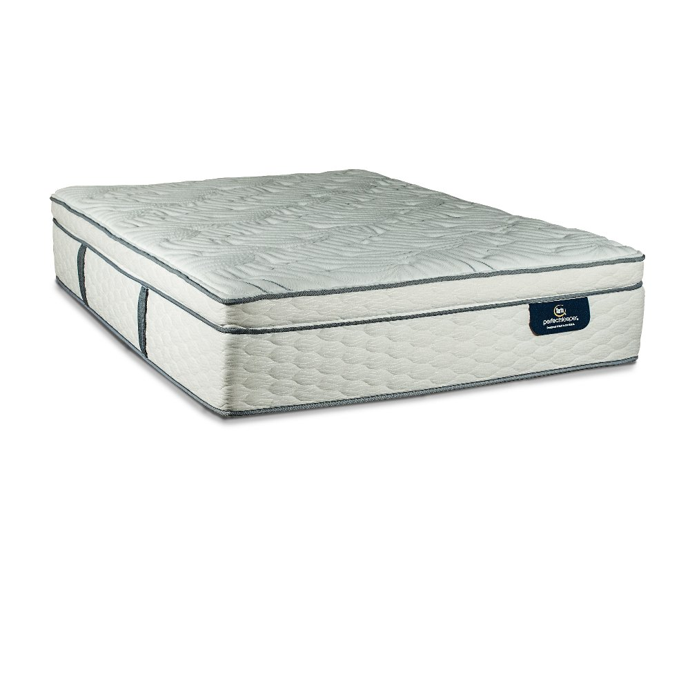 serta euro top king size mattress mackay rc willey furniture store