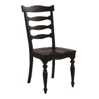 Chimney Brown Ladder Back Ellis Dining Room Chair - Magnolia Home