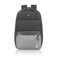 UBN740-4 15.6 Inch Gray and Black Backpack