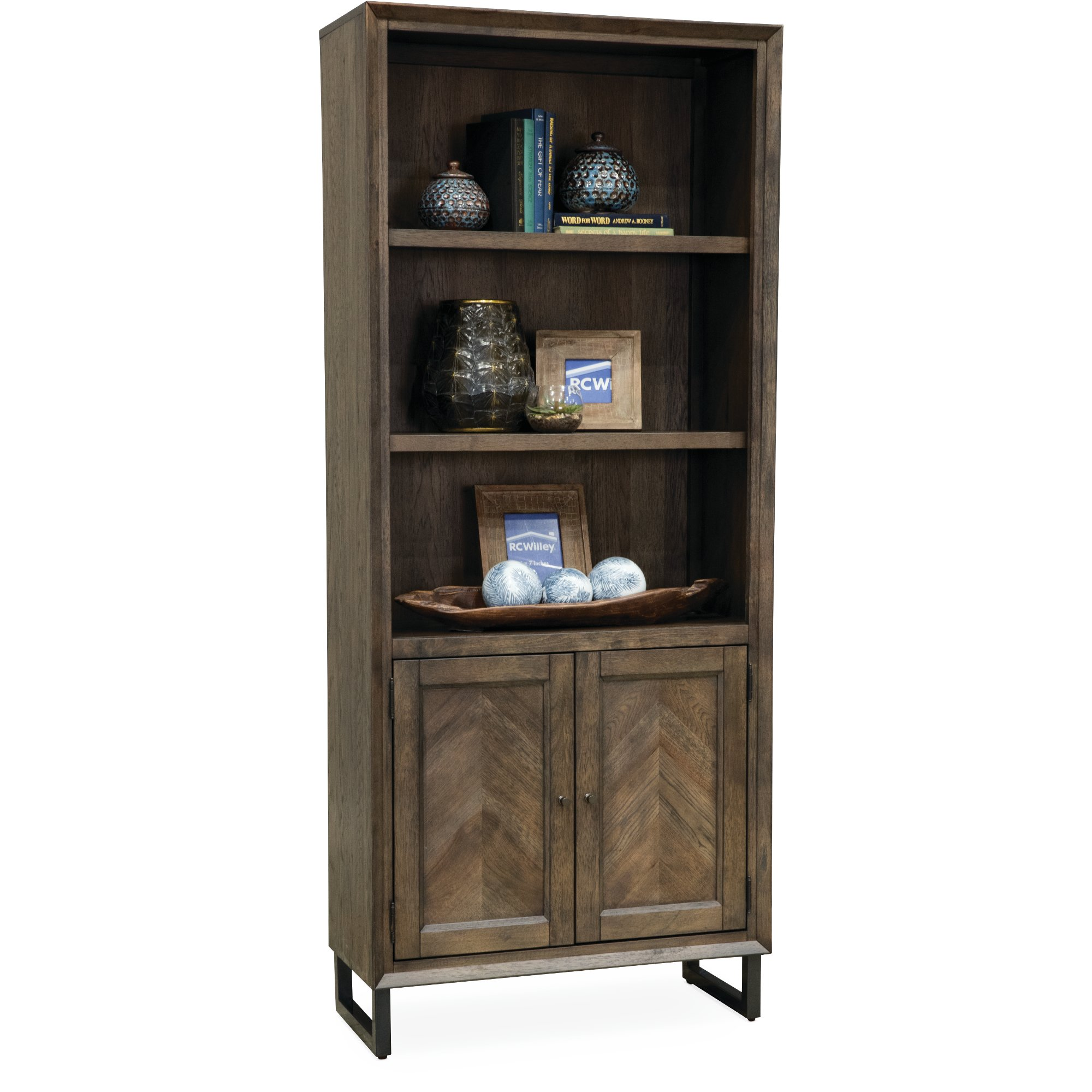 black doors barrister bookcases wooden wood panel auston p with bookcase