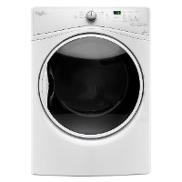 WED85HEFW Whirlpool Electric Dryer with EcoBoost - 7.4 cu. ft. White