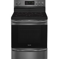 FGEF3036TD Frigidaire Gallery 5.4 cu. ft. Smooth top Electric Range - Black Stainless Steel