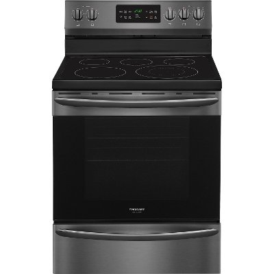 FGEF3036TD Frigidaire Gallery Electric Range - 5.4 cu. ft.  Black Stainless Steel