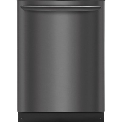 FGID2466QD Frigidaire Dishwasher with OrbitClean Spray Arm - Black Stainless Steel