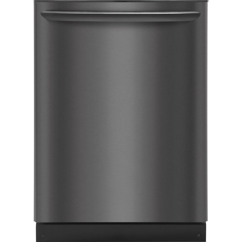Frigidaire Dishwasher With Orbitclean Spray Arm Black Stainless