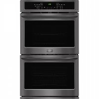 FGET3065PD Frigidaire Gallery 30 Inch Double Wall Oven - 9.2 cu. ft. Black Stainless Steel
