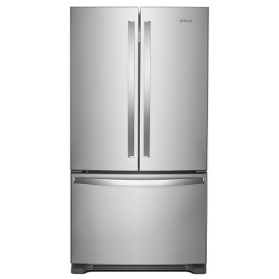 WRF535SWHZ Whirlpool French Door Refrigerator with Humidity-Controlled Crispers - 36 Inch Stainless Steel
