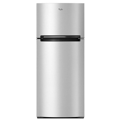 WRT518SZFM Whirlpool Top Freezer Refrigerator - 28 Inch Stainless Steel