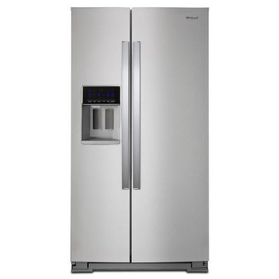 WRS588FIHZ Whirlpool Side-by-Side Refrigerator - 36 Inch Stainless Steel