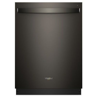 WDT750SAHV Whirlpool Built-in Dishwasher - Black Stainless Steel