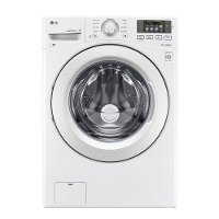 WM3180CW LG Ultra Large Capacity 4.5 cu. ft. Front Load Washer with ColdWash Technology - White