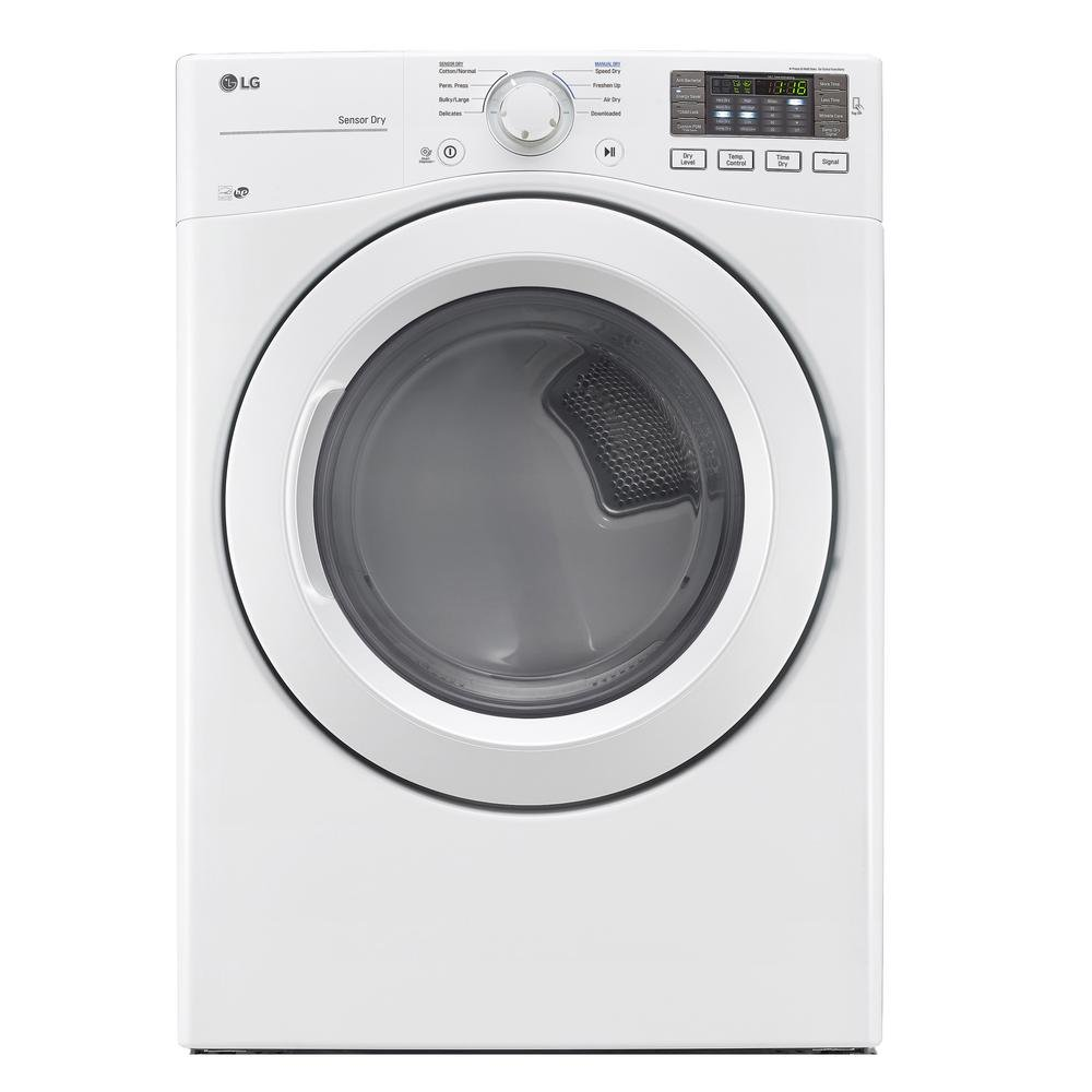 Rc Willey Dryer: LG Front Load Washer And Electric Dryer Pair - White
